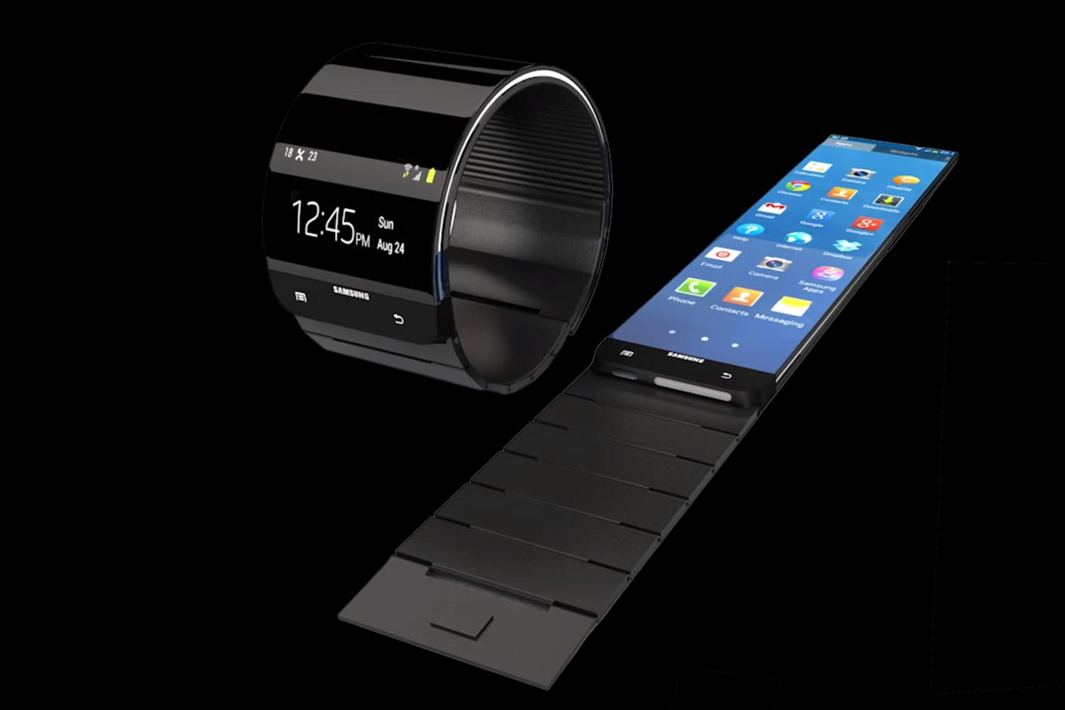 The Samsung Smartwatch Has Arrived