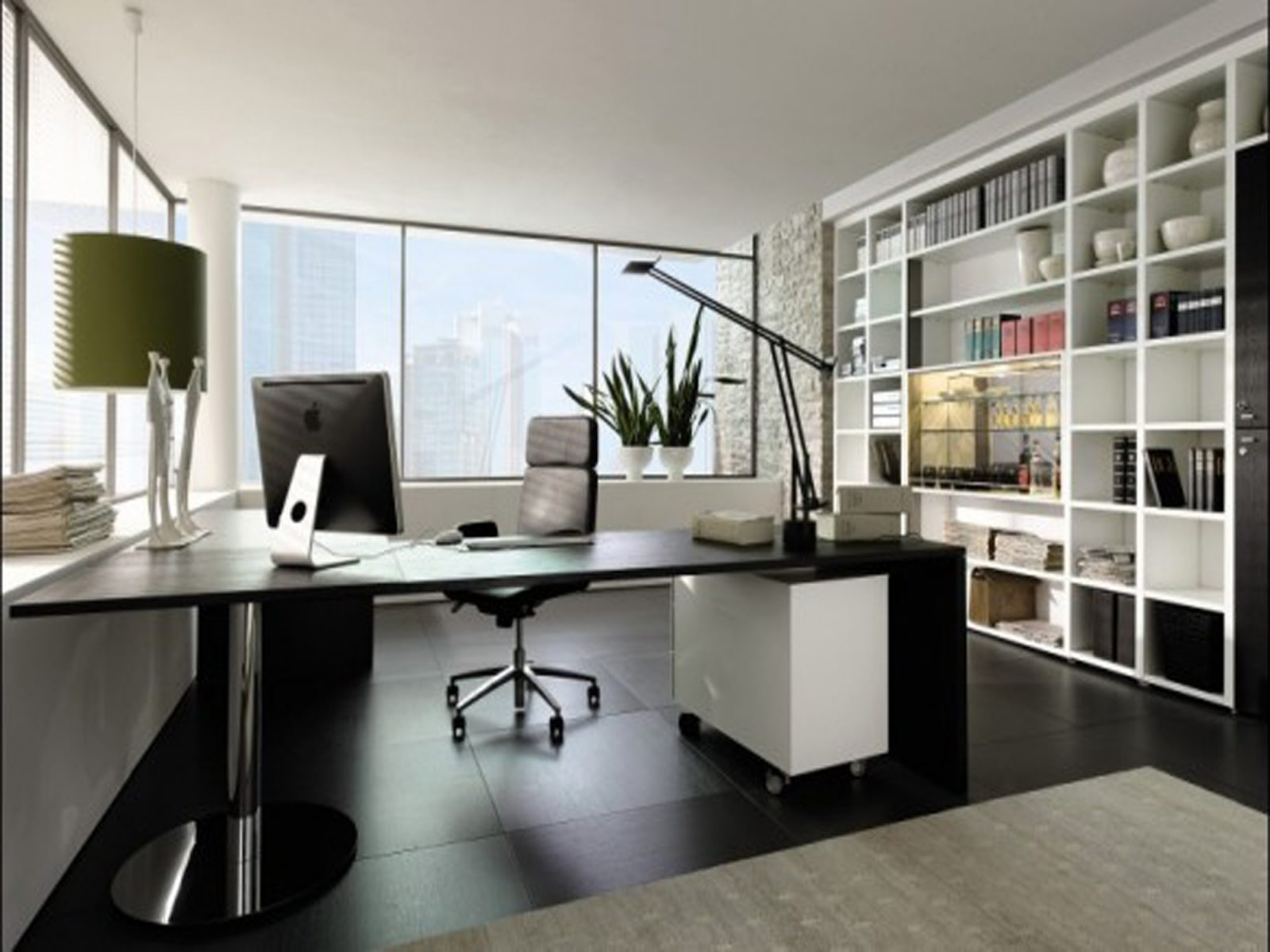 Good Office Design Can Alleviate Stress and Increase Productivity