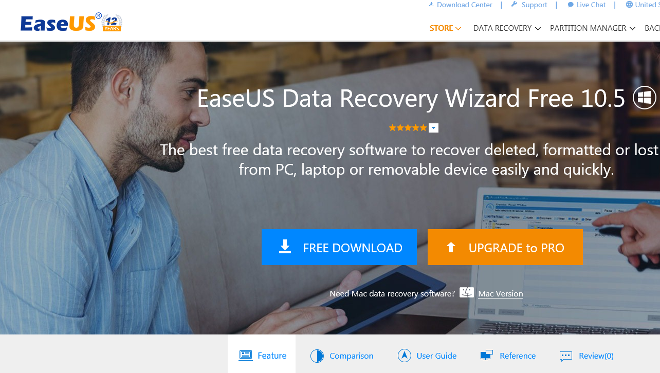 EaseUS Data Recovery Wizard – A Nice Way To Recover Lost Data