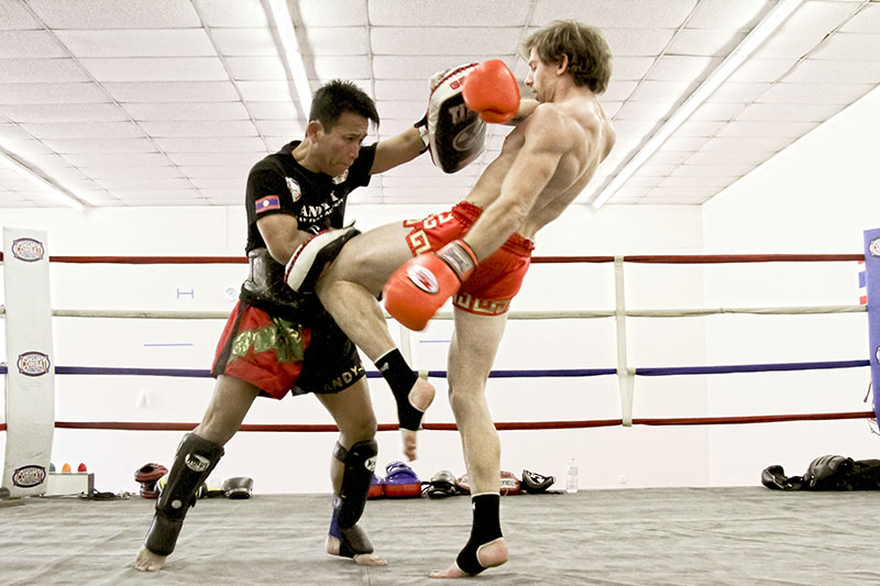 Muay Thai boxing in Thailand and computer technology
