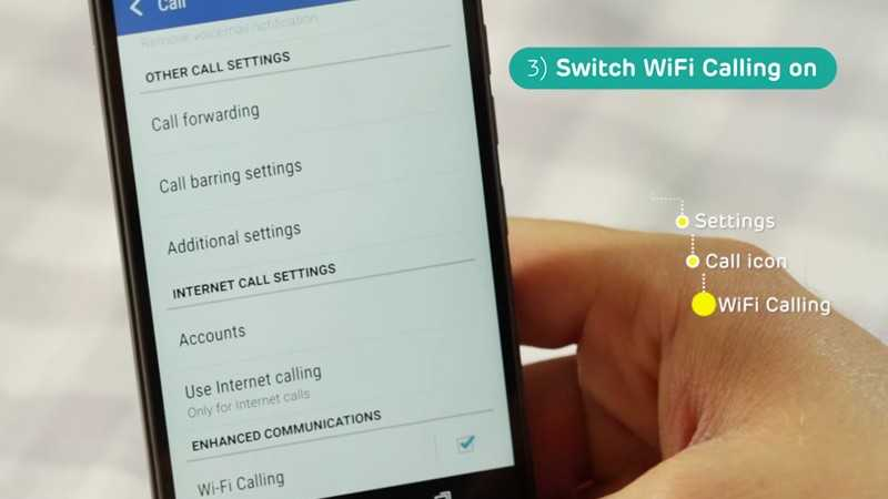 Activate Wifi Call On Your Mobile Phone