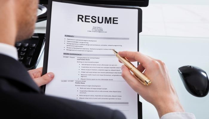 RE Your Resume