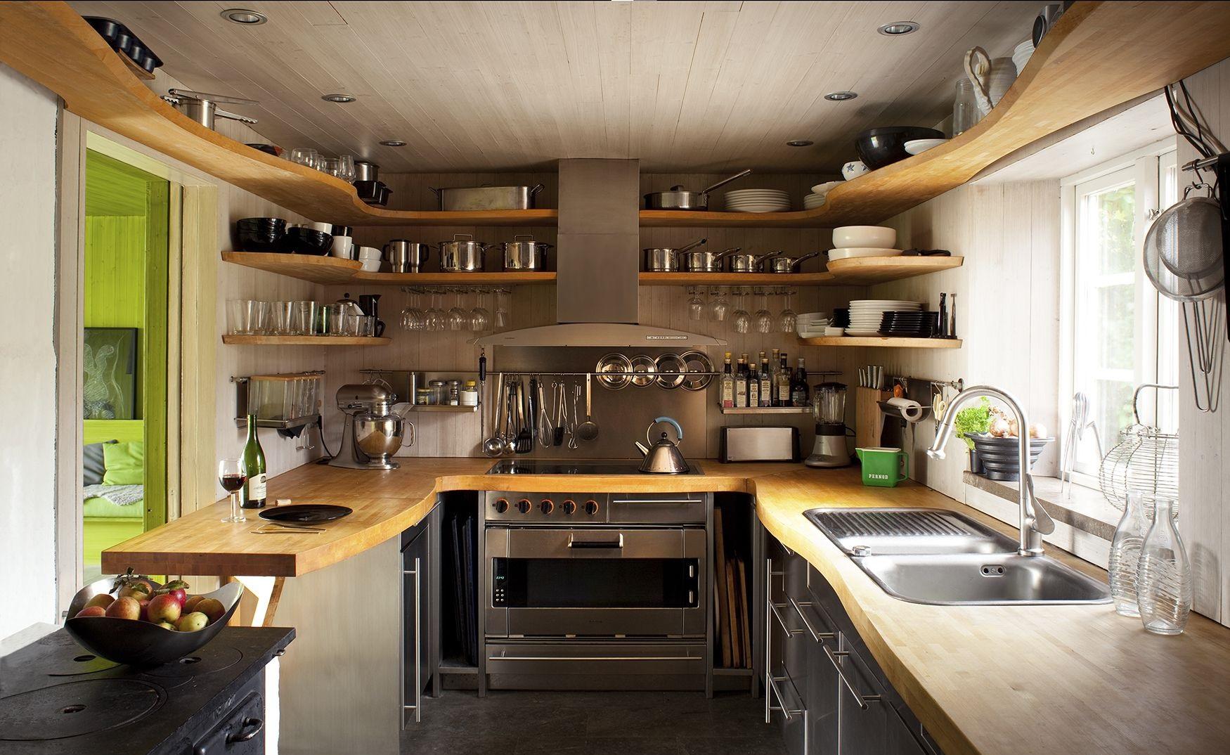 kitchen wooden interiors